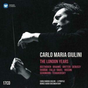 Carlo Maria Giulini : The London Years.