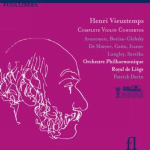 Vieuxtemps : Les 7 concertos pour violon. Davin.