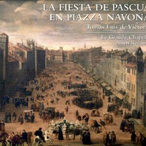 La fiesta de Pascua en Piazza Navona.
