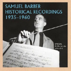 S. Barber-Recordings '35-'60.