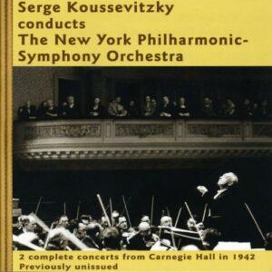 Serge Koussevitzki : Corelli, Debussy, Ravel.