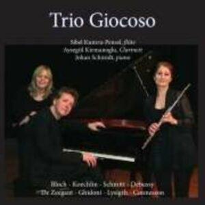 Bloch, Koechlin, Schmitt, Debussy, : Trio Giocoso Plays De Zeegant,  Ghid