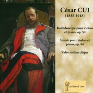 Cui, Cesar (1835-1918): Cui: Kaleidoscope Pour Violon & Pia