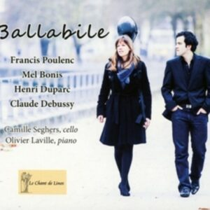 Poulenc, Bonis, Duparc, Debussy: Ballabile,  Music For Cello & Piano