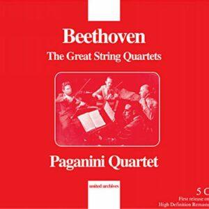 Beethoven : Les Grands Quatuors. Quatuor Paganini.