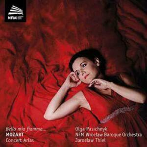 Mozart : Airs de concert. Thiel.