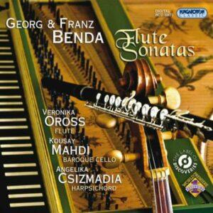 Georg Benda & Franz Benda : Sonates pour flûte