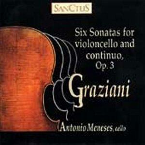Graziani : Six sonates pour violoncelle et basse continue Op.3