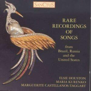 Rare Recordings of Songs