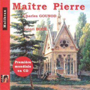 Gounod : Maître Pierre. Aubin.
