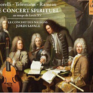 Le concert spirituel, au temps de Louis XV. Savall.