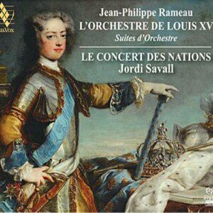 Rameau : L'orchestre De Louis XV. Savall.