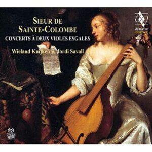 Sainte-Colombe : Pièces de violes. Savall, Kuijken.