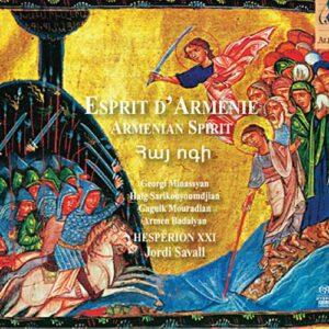 Esprit d'Armenie. Savall.