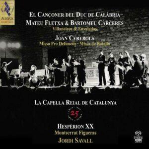 Capella Reial De Catalunya : 25ème anniversaire.