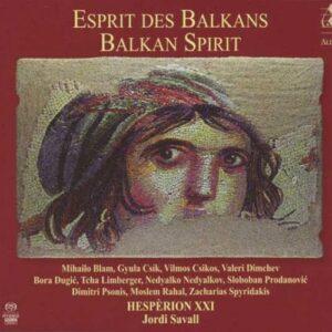 Esprit Des Balkans. Savall.