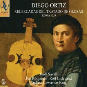 Ortiz : Recercadas del Trattado de Glosas. Savall, Koopman.