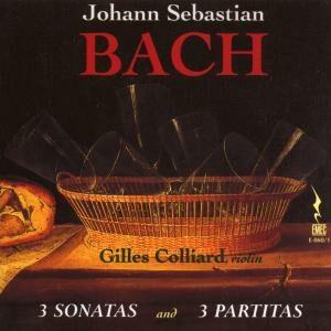 Bach, Johann Sebastian: 3 Partitas & Sonatas