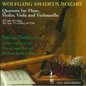 Mozart, Wolfgang Amadeus: Flute Quartets