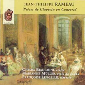 Jean-Philippe Rameau : Pièces de clavecin en concerts