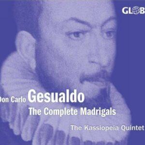 Carlo Gesualdo : The Complete Madrigals