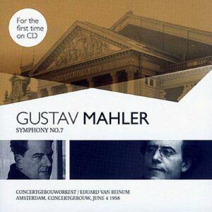 Mahler : Symphonie n°7. Van Beinum.