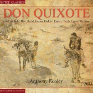 Don Quixote. Scofield, Kiriby, Tubbs, Rooley.