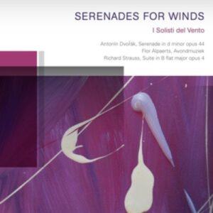 Strauss / Alpaerts / Dvorak: Serenades For Winds