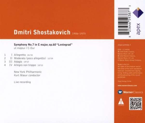 Kurt Masur-Chostakovitch:Symph