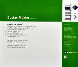 Daniel Barenboim-Mahler/Das Li