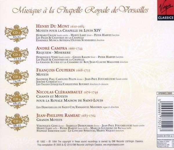 Compilation : Musique à la Chapelle Royale de Versailles