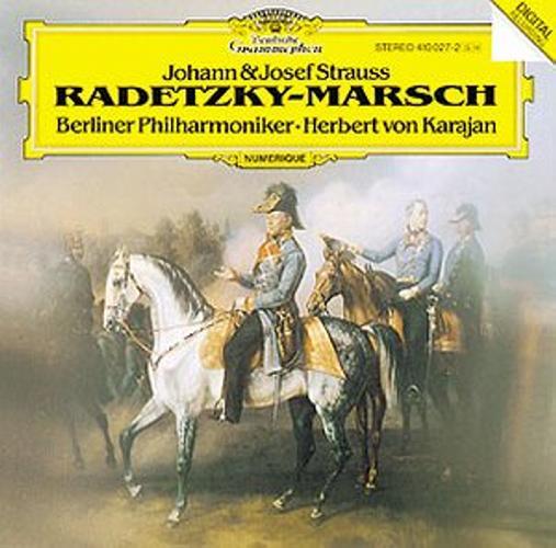 Strauss Johann : Strauss Pere-Karajan-Marche De