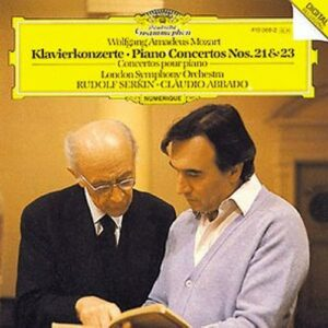 Mozart : Concertos Pour Pianos N 21 & 23-Serkin Rudolf