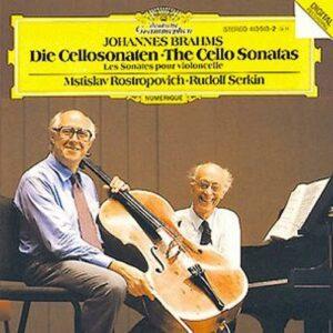 Brahms : Sonates. Rostropovitch, Serkin