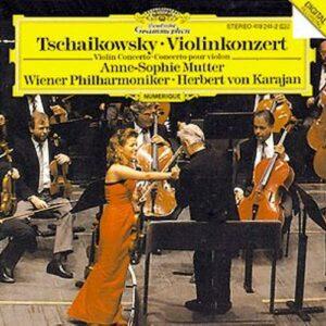 Tchaikovski : Tchaikowsky-Concerto Pour Violon-Anne Sophie Mutter-Herbert