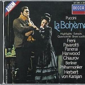 Puccini : Pavarotti-La Boheme