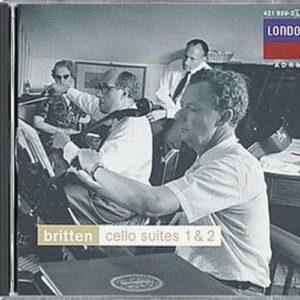 Britten : Suites pour violoncelle. Rostropovitch