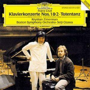 Liszt : Zimerman-Ctos Pour Piano 1 & 2