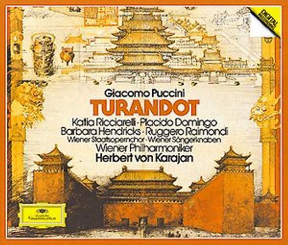 Puccini : Karajan-Turandot