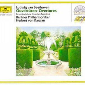 Beethoven : Karajan -Ouvertures