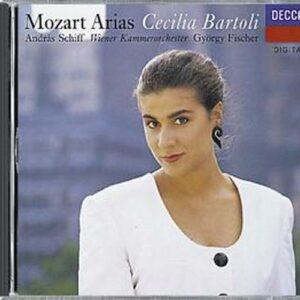 Mozart : Arias. Bartoli, Fischer