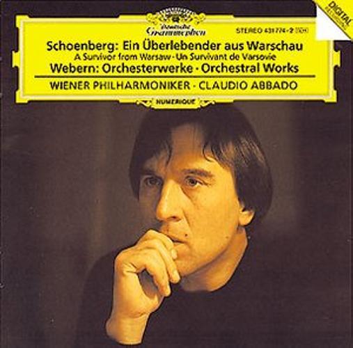 Schoenberg-Survivant De Varsovie-Webern-Oeuv.Div-Abbado-Opv