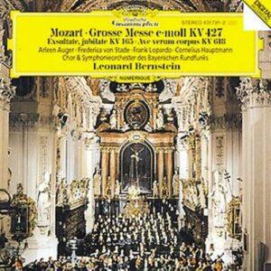 Mozart : Messe Ut Migrosse Messe-Exsultate-L.Bernstein-Osrb-F