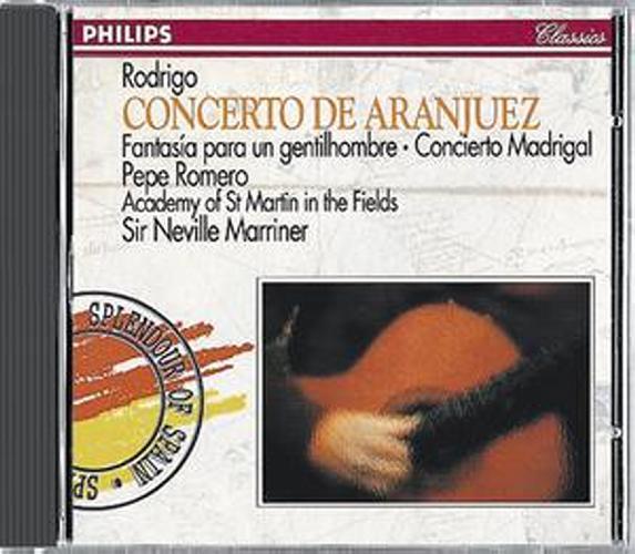 Rodrigo : Concerto Aranjuez-Fantai.Pr.Gentilh.Romero-Marriner-