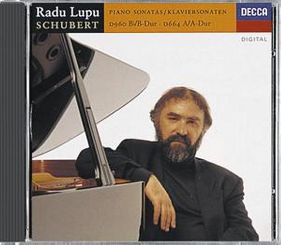Schubert : Sonates Piano D 664-D 960-Rado Lupu-