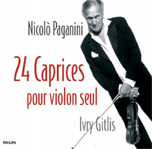 Paganini : Caprices op. 1 / Gitlis
