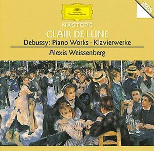 Debussy : Clair De Lune-Estampes-Suite Bergamasque-Weissenberg