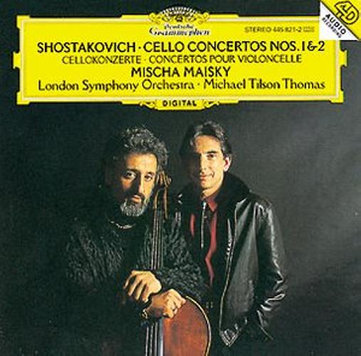 Chostakovitch : Concertos Vcelle N 1&2-Maisky-Tilson-Thomas-