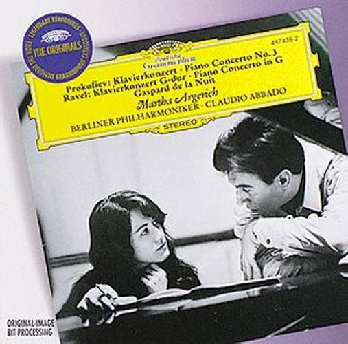 Prokofiev : Cto Piano N 3-Ravel-Cto Pia Sol-M Argerich-Abbado-