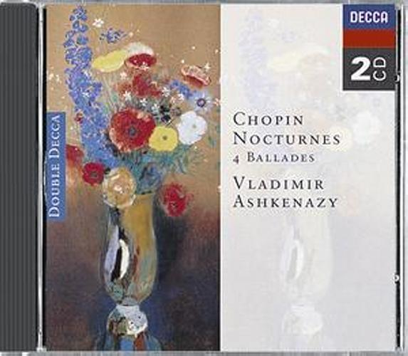 Chopin : Nocturnes-Ballades-Ashkenazy